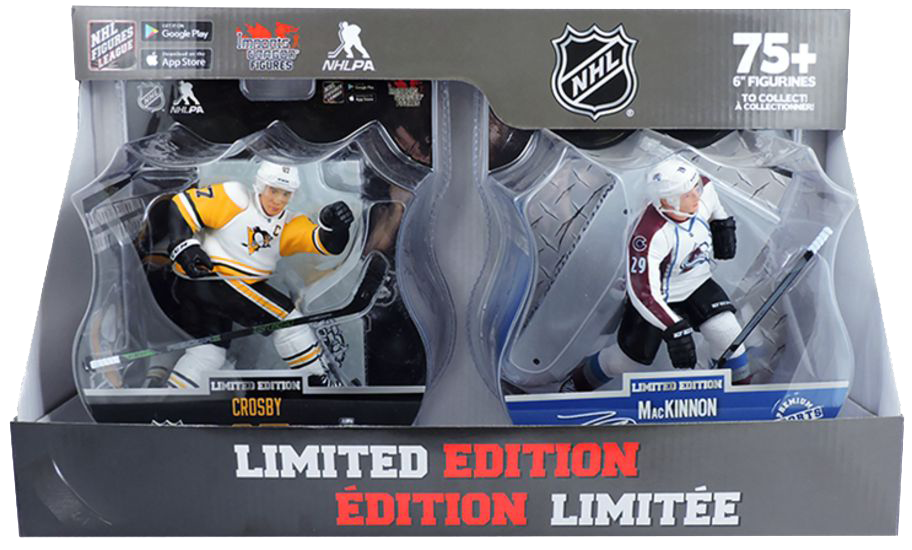 Sidney Crosby/Nathan MacKinnon 2 Pack Image